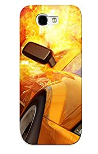 Improviselike Protection Case For Galaxy Note 2 / Case Cover For Christmas Day Gift(burnout Revenge)