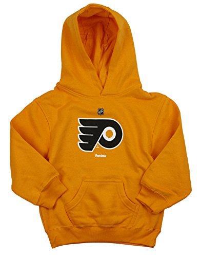 Reebok NHL Philadelphia Flyers (4-7) Little Boys Kids Pullover Fleece Hoodie, Orange
