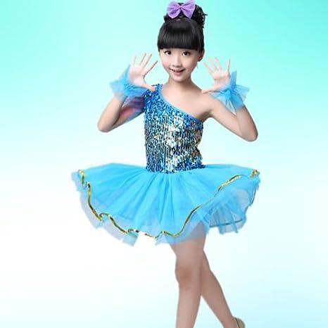 MATISSA Childrens Sequin Dance Costumes Ballet Dresses Skirts Dance wear Kids Girls 3-15 years