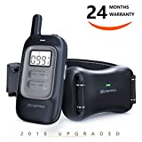 #10: Shock Collar for Dogs - Dog Training Collar with Remote 1000Ft Rechargeable Rainproof Anti Bark E Collar,Beep Vibration Shock for Small Medium Large Dogs (2018 New)