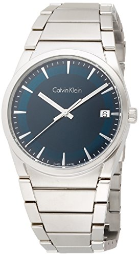 Calvin Klein Step Green Dial Men's Watch K6K3114L