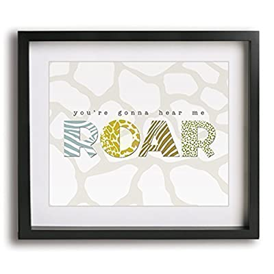 Roar | Katy Perry inspired song lyric art print