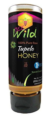 Bee Wild 100% Pure & Raw Honey - Tupelo 12 ounce