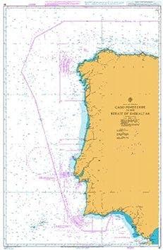 Ba gráfico 87: España y Portugal, Cabo Finisterre a el estrecho ...