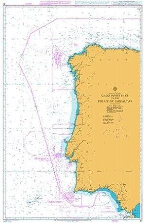 Ba gráfico 87: España y Portugal, Cabo Finisterre a el estrecho de Gibraltar: Amazon.es: Deportes y aire libre