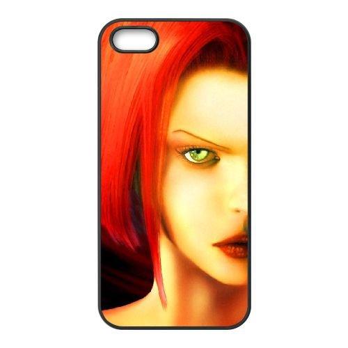 D1Q36 BloodRayne S7Q6WL coque iPhone 5 5s cellule de cas de téléphone couvercle coque noire XA8HXX3MZ