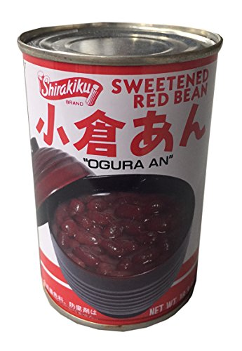 Sweetened Red Beans (Shirakiku Sweetened Red Bean 18.3 oz (2 Pack))