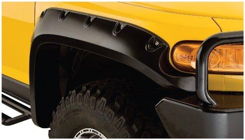 (Bushwacker 31063-02 Toyota Pocket Style Fender Flare - Front Pair)