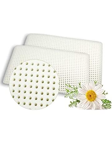 VENIXSOFT Par de almohadas viscoelástica para cama en espuma de momoria 70cm x 40cm x 12cm
