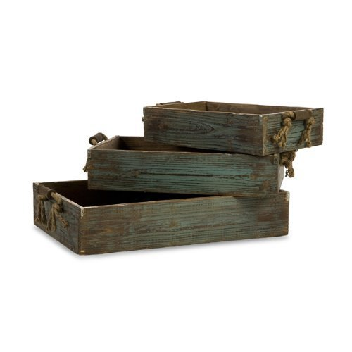 IMAX Northfork Wood Trays Set of 3 by Imax by Imax