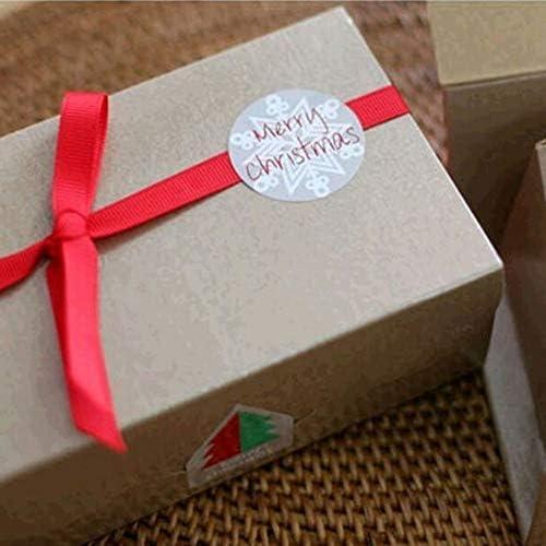 Multi barattolo da cucina stampato autoadesivo autoadesivo per il pacco regalo la preparazione di dolci Quanjucheer 60PCS Merry Christmas etichetta adesiva