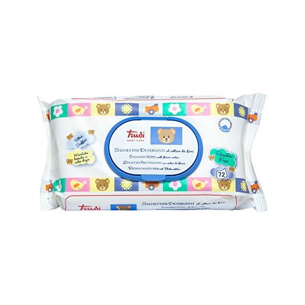 Trudi Baby Care Salviette - 1 confezione da 72 salviettine detergenti 1