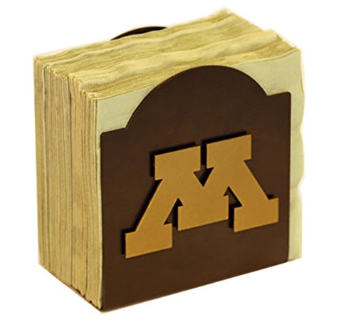 Henson Metal Works 506-38 Univ of Minnesota logo Classic Napkin Holder