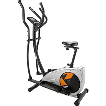 york aspire exercise bike. serene york aspire magnetic 2 in 1 cross trainer and exercise bike with accompanying sports pulse