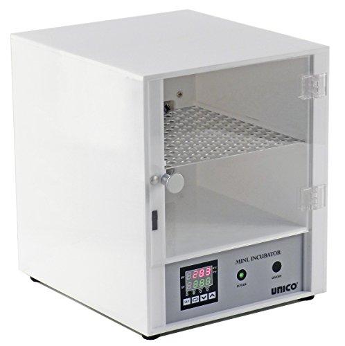 UNICO L-CU60 Laboratory Incubator, Ambient to 60 Degree C, 6 L Capacity, 110V