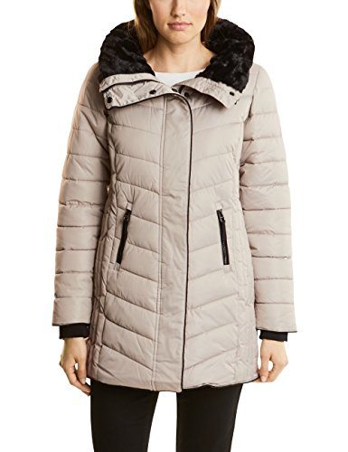 Champagne One Padded Beige Street Giubbotto Donna 10995 Ojp Coat shaped 8FRq7gx