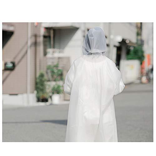 Imperméables Imperméable Transparent Longue Lettres Geyao Mode Épaississement Femme Modèles En Randonnée Air Section Poncho Couples size Adultes Xl Plein Voyage rzI1xr