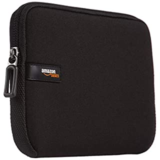 AmazonBasics 17.3-Inch Laptop Sleeve, Black