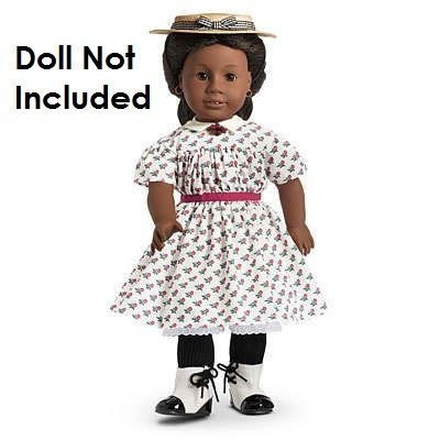 American Girl Addy's Summer Dress & Hat
