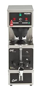 Wilbur Curtis Gemini Single Coffee Brewer, Analog, 1.0 Gal., Dual Voltage - Commercial Coffee Brewer - GEM-120A-63 (Each)