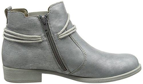 Remonte Damen R9393 Chelsea Boots Grau (argento/argento / 90)