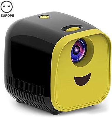 Msleep Mini proyector portátil WiFi 1080P Full HD LED proyector de ...