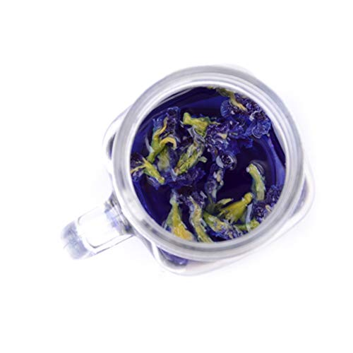- Party DIY Decorations - 100g Vitamin A thai Blue Butterfly Pea Tea Put In Tea Infuser Clitoria Ternatea Tea New Mixed In Coffee Green Living