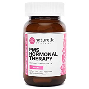 Gut Health Shop 4194gavfqFL._SS300_ Naturelle PMS Hormonal Therapy | Doctor-Approved, All-Natural PMS Relief Supplement | Naturally Supports PMS Balance…