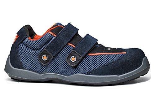 Swim sécurité Velcro Mens Base de chaussure Bleu Record BO620N Bleu antidérapante S1P qw65O