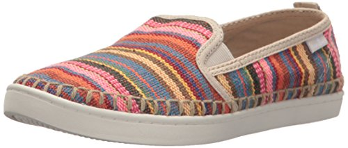 Donna Sneaker - Sanuk Women's Brook TX Slip-On Loafer,Cabaret Kauai Blanket,10 M US