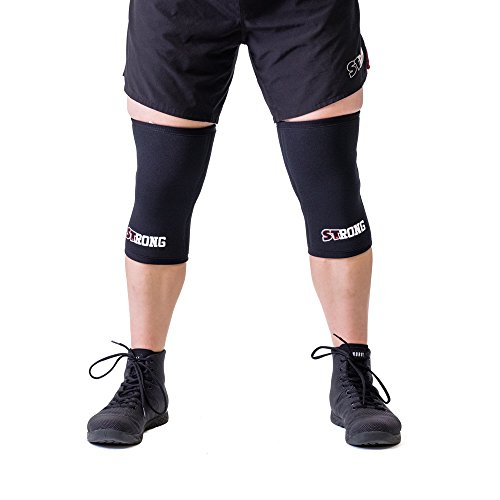 Strong Knee Sleeves - Black, XL