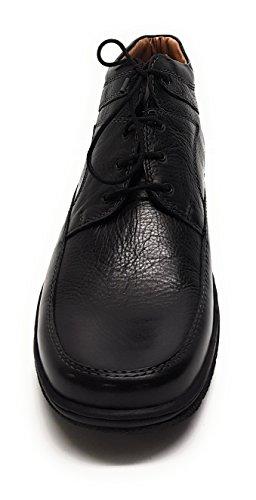 Schnürhalbschuhe Schwarz H Schuhe TR Herren Ago Caldo Manz Laufsohle 4553 LEDs 0 q7PWx8w