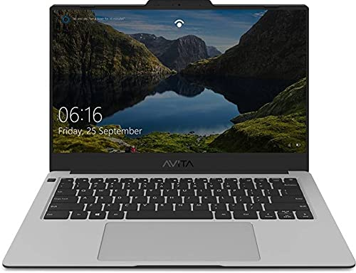 Avita Liber V14 Ryzen 5 Quad Core 3500U – (8 GB/512 GB SSD/Windows 10 Home) NS14A8INV562-SSA Thin and Light Laptop (14 inch, Star Silver, 1.25 kg, with MS Office)