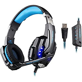 KOTION EACH G9000 USB 7.1 Surround Sound Version Game Gaming Headphone Computer Headset Earphone Headband with