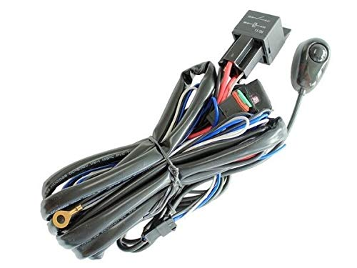 Double LED Wiring Harness: