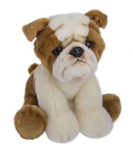 Wildlife Tree 12 Inch Stuffed English Bulldog Puppy Dog Plush Floppy Pet Kingdom Collection