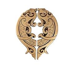Manilla para puertas Manijas De Las Puertas Manillones Creativo Del Dragón Puerta De La Maneta De Arte Chino Antiguo Gabinete Manija De La Puerta Manija De Época Talladas Vino Puerta Del Armario