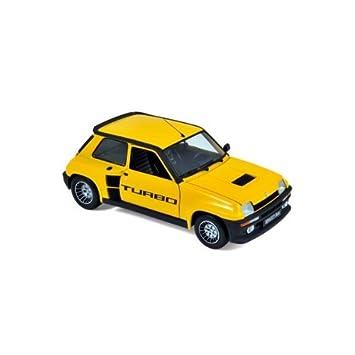 Renault - Norev - UH4542 5 Turbo Jaune Larousse - 1:18 - NOREUH4542