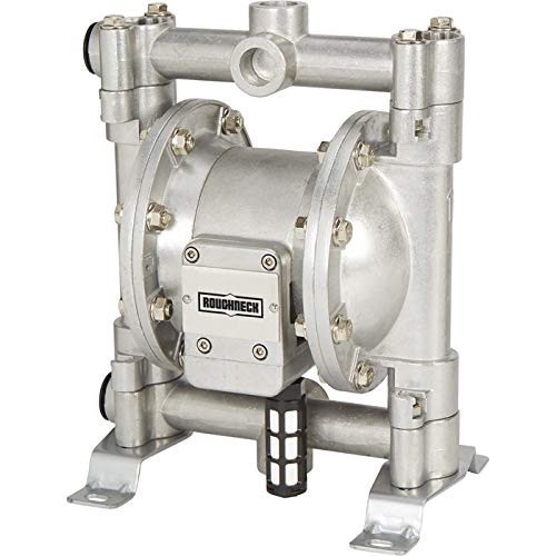 Roughneck Air-Operated Double Diaphragm Pump - Aluminum, 16 GPM, 10 CFM (Roughneck Air Operated Double Diaphragm Oil Pump)