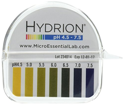 Micro Essential Laboratory Inc Hydrion PH Test Paper (Nitrazine Paper)