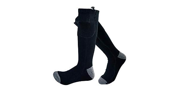 PerGrate 1 par de Calcetines calefactables con batería eléctrica para Calentar los pies: Amazon.es: Hogar