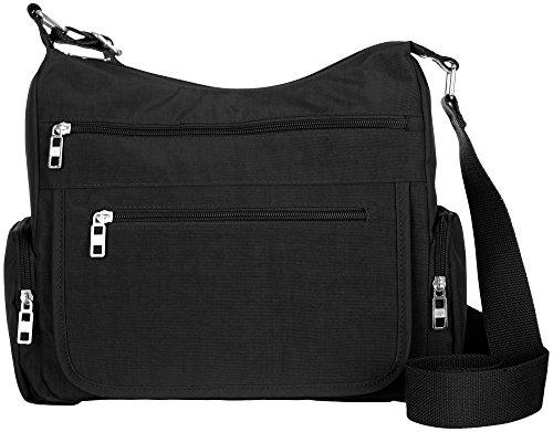 Handbag Black Organizer Solid Bueno Crossbody w80P4ZP