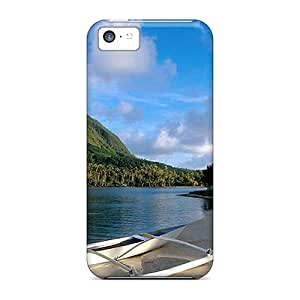 SHiNiNG Snap On Hard Case Cover French Polynesia Protector For Iphone 5c
