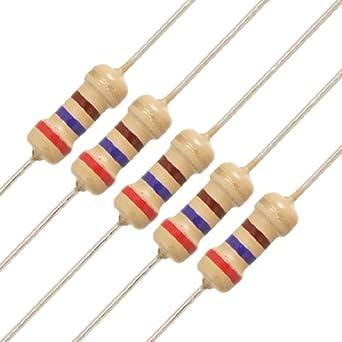 250 pcs 270 ohm 1//4W 1/% metal film resistors.