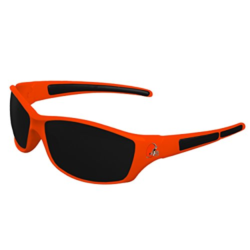 FOCO NFL Cleveland Browns Sports Fan Sunglasses, Team Color, One Size