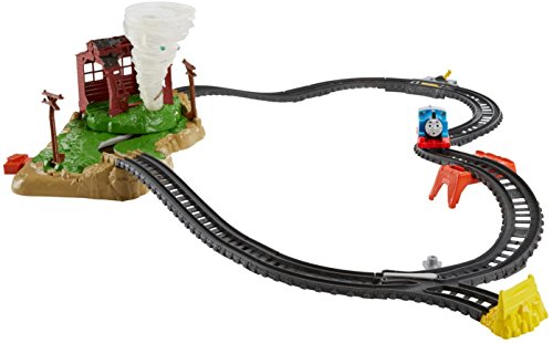 Fisher-Price Thomas & Friends TrackMaster, Twisting Tornado (Motorized Track Set)