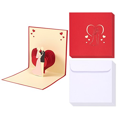 wedding greeting cards bulk 6 pack 3d wedding cards bride and