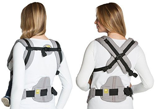 Image of the SIX-Position, 360 Ergonomic Baby & Child Carrier by LILLEbaby - The COMPLETE All Seasons (Stone)