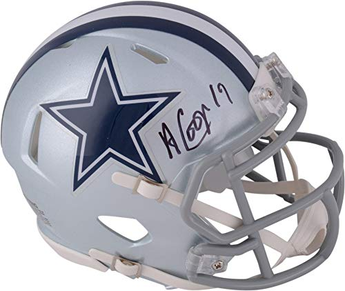 Amari Cooper Dallas Cowboys Autographed Riddell Speed Mini Helmet - Fanatics Authentic Certified - Autographed NFL Mini Helmets