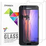 Samsung J7 2018 Screen Protector Glass, by ZMINDCH,Tempered Glass Screen Protector Compatible with Samsung J7 2018 [3-Pack]